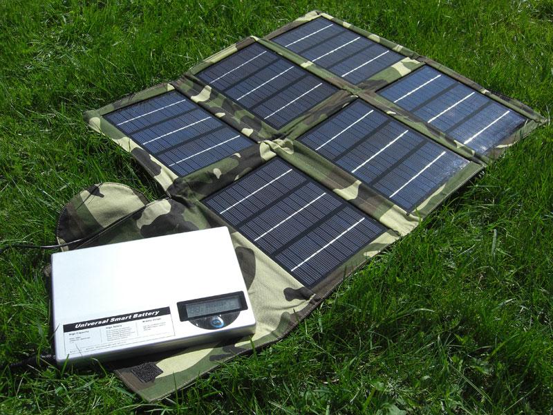 Solcelleladere Pro Solcellelader Pro20W solcelleshop.no